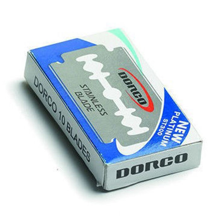 Dorco Safety Razor Blade 10X10